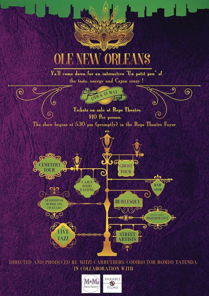 ole new orleans poster